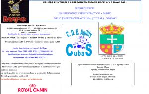 RSCE CUBAS 8 Y 9 DE MAYO @ AGILITY CUBAS | Cubas de la Sagra | Comunidad de Madrid | España